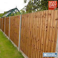 wood fence panels. Wooden Garden CLOSE BOARD Fence Panel Feather Edge Fencing 6ft 5ft 4ft 3ft Wood Panels N