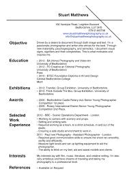 Resume Description For Photographer Therpgmovie