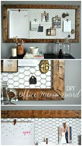 diy home office decor ideas easy. Exciting Easy Rustic Office Memo Board Modern Wall Decor For At Work Diy Home Ideas F