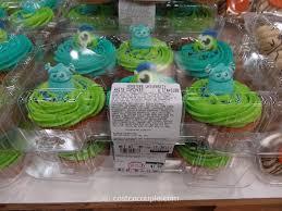 Monsters University White Cupcakes
