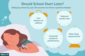 Lights On Afterschool Facts The Pros And Cons Of Starting School Later