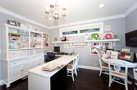 craft room home office design. Home Office Craft Room Design Intended For Ideas