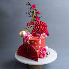 The best selection of royalty free cake oriental vector art, graphics and stock illustrations. Oriental Ruby Cake Online Chinese New Year Cake Delivery Kl Pj