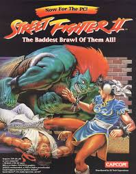 street fighter ii 1992 dos box cover art mobygames