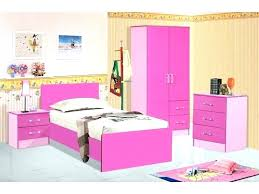 Pink And White Bedroom Furniture Sets High Gloss Set Hot Girls ...