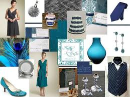 Inspiration Board # 16: Teal, Navy Blue & Slate Gray