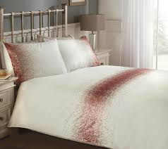 shimmer cream blush pink sequined duvet cover luxury cream blush pink sparkle single double