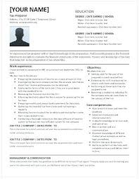 Accountant Resume Magnificent Tax Accountant Resume Objective Examples Sample For Junior Best