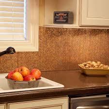Copper Backsplash For Kitchen Awesome Copper Backsplash Highlights Home And Design Blog