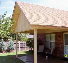 Patio Cover Plans Construction Patio Covers Gabled Shed Flat