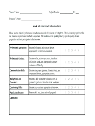 Workshop Evaluation Form Stunning Interview Assessment Form Feedback Template Sample Evaluation