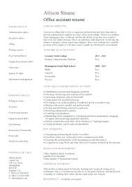 Resume Template For Administrative Assistant Free Best Of Resume Templates For Office Assistant Administrative Coordinator