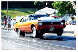 1971 Chevrolet Nova SS 1/4 mile Drag Racing timeslip specs 0-60 ...