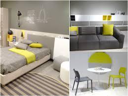 gris y amarillo interior casa
