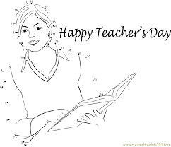 Beautiful_Teachers_Day_connect_dots teacher day message dot to dot printable worksheet connect the dots on worksheet teacher