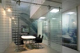 barn doors glass office divider