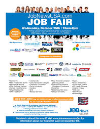 Huge Jacksonville Job Fair Tickets Wed Oct 25 2017 At 10 00