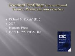 what s on your shelf recommended reading for police psychologists  11 criminal profiling international theory research