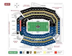 One Direction Lincoln Financial Field Seating Chart Stadium Information Army Navy