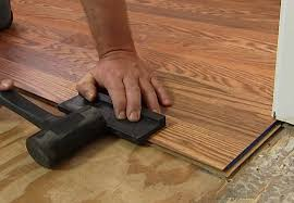 As You Place Boards, Gaps May Open Up Between Boards And Between Rows. This  Must Be Checked Continuously And A Hammer And Tapping Block Can Be Used To  Tap ...