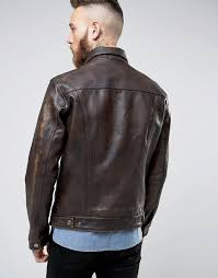 levis leather trucket jacket buff rustic buff rustic mens levis leather jacket rsluqww7