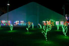 festival of lights holiday celebration at moody gardens in galveston