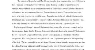 odyssey paper hero google docs