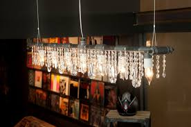 lighting dining room chandeliers linear chandelier