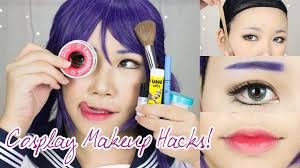 8 cosplay makeup hacks everyone should know face taping brow concealing anime lips you