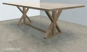 x base dining table diy x leg farmhouse table plans round dining table base diy