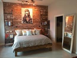 bedroom track lighting. brick accent walls give any ordinary bedroom extraordinary life we recommend our fremont color mix track lighting i