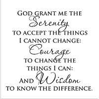 Image result for serenity prayer word pic