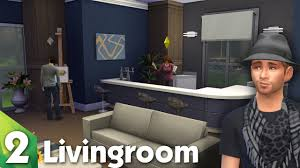 Small Picture The Sims 4 Room Design The Lovely Livingroom YouTube