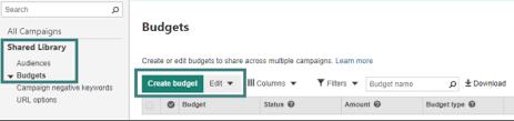 Microsoft Advertising Budgeting Microsoft Advertising