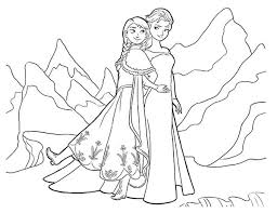 Small Picture Elsa Anna ColoringAnnaPrintable Coloring Pages Free Download