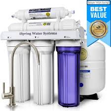 Water Purifier For Home Ispring Wqa Gold Seal 5 Stage With Superior Quality Filter 75gpd