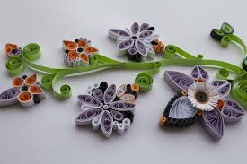 although you can strips of pre cut colorful quilling paper from art craft s you could also use computer