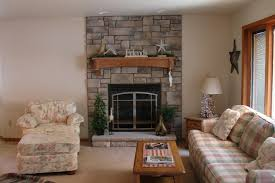Decor Stone Wall Design Decorating A Living Room With A Stone Fireplace Meliving 100a100f100cd100100d100 51