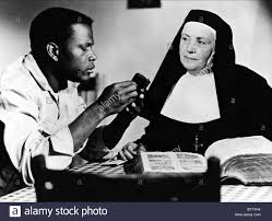 Image result for 1964 when Sidney Poitier got it for Lilies of the Field.