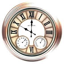 large outdoor clocks large outdoor clocks thermometer