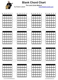 Blank Chord Chart Blank Guitar Charts Guitar Lessons Buffalo Ny