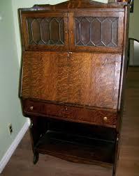 antique secretary desk with hutch