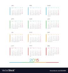 Simple Calendar Template 2015 2015 Full Calendar Template
