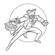 Disegni Da Colorare Batman Joker Powermall