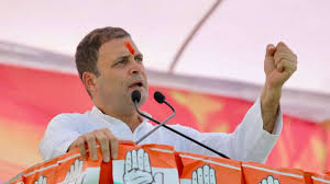 Save Your Daughters From Bjp Lawmakers Says Rahul Gandhi At Mp Rally