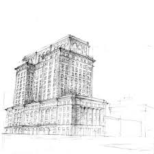 architectural building sketches. Sketch Architectural Building Sketches L