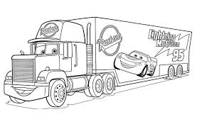 Cars 3 Mack Truck Coloriage Cars 3 Coloriages Pour Enfants Coloriage Cars L