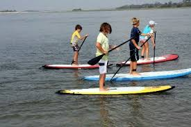 Image result for paddleboarding kids