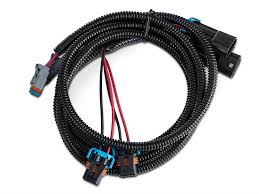 axial wrangler h10 fog light dual wire harness adapter set j104818 Wrangler Wire Harness axial h10 fog light dual wire harness adapter set (07 09 wrangler jk) jeep wrangler wire harness