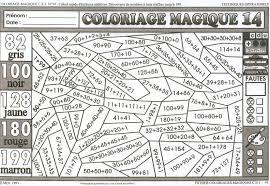 Coloriage Magique Ce1 Colorier Dessin Imprimer Coloriages